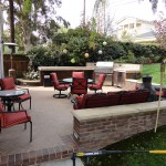 Outdoor Patio BBQ and Entertainment Area - Gemini 2 Landscape Construction