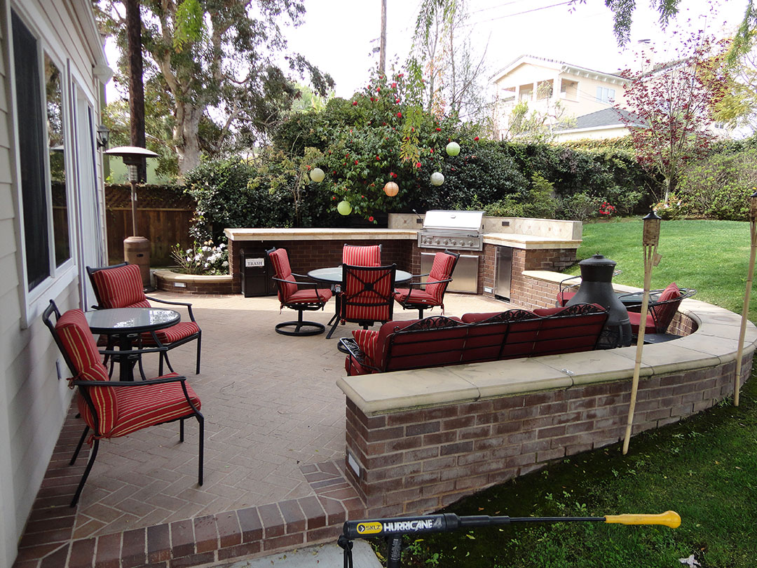 Outdoor Patio Bbq And Entertainment Area Gemini 2 Landscape Construction