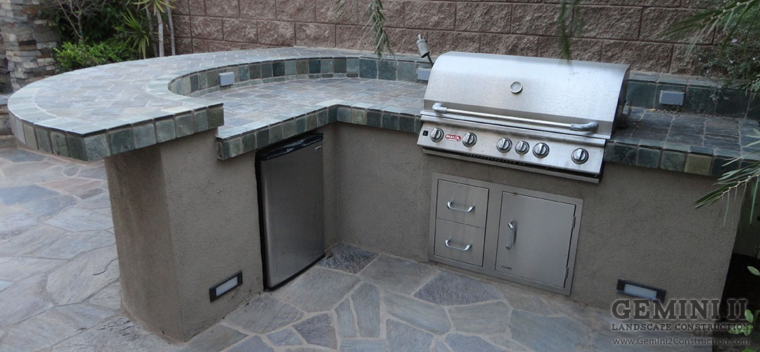 Outdoor BBQ's and Counters - Gemini 2 Construction