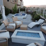 Entertainment Patio and Outdoor Pond - Gemini 2 Landscape Construction