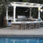 Poolside BBQ - Gemini 2 Landscape Construction