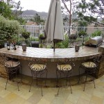 Entertainment Patio and Outdoor Bar - Gemini 2 Landscape Construction