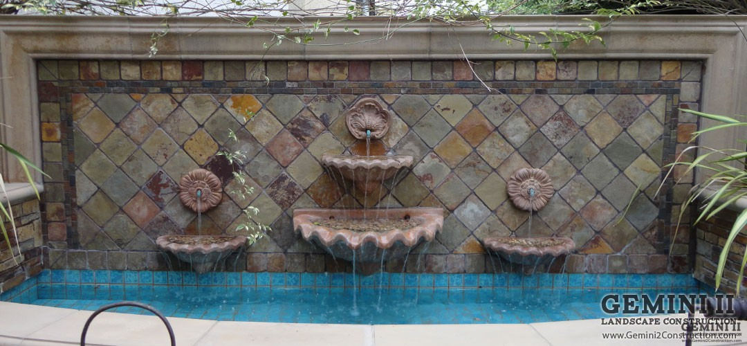 Water Features - Gemini 2 Landscape Construction