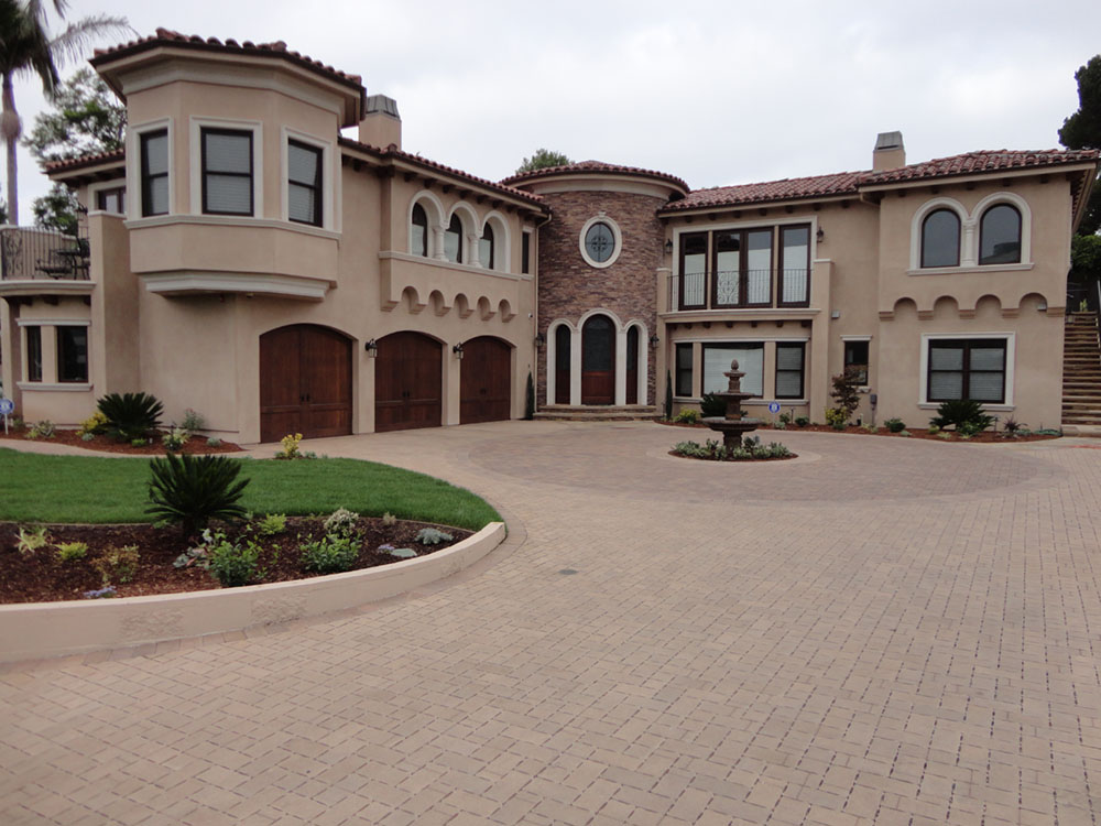 Front Driveway And Motor Court Gemini 2 Landscape